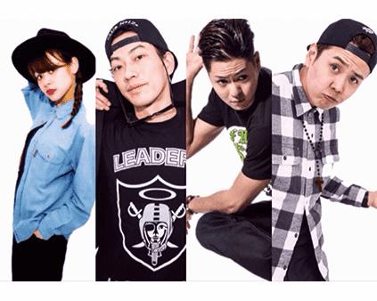 けんG+NODOKA+Funkrafty(源元+チャーリー)